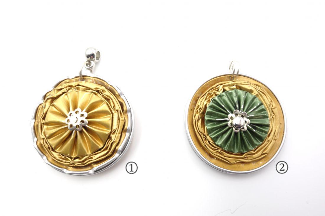 Kávékapszulából készült medálok